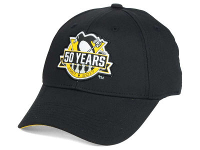 Pittsburgh Penguins Reebok NHL 50th Anniversary Flex Cap