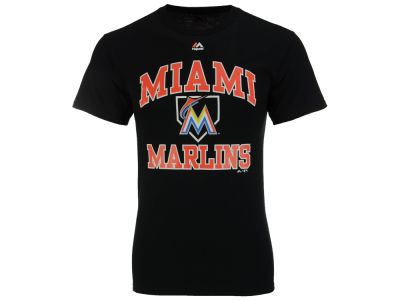 Miami Marlins MLB Men's Hit and Run T-Shirt