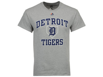 Detroit Tigers Majestic MLB Men's Hit and Run T-Shirt