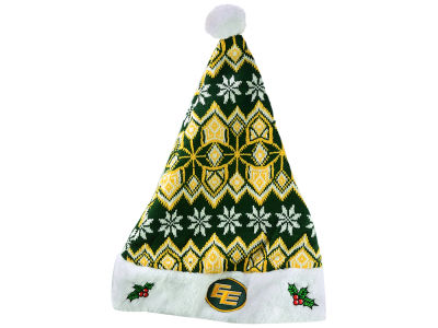 Edmonton Eskimos Knit Sweater Santa Hat
