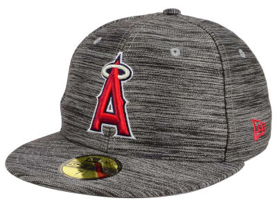 Los Angeles Angels New Era MLB Blurred Trick 59FIFTY Cap