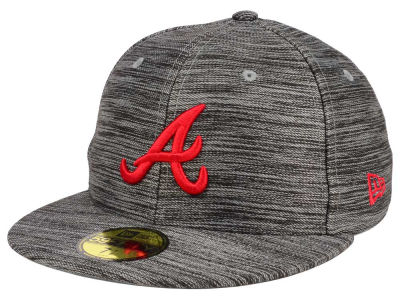 Atlanta Braves New Era MLB Blurred Trick 59FIFTY Cap