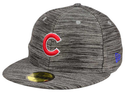Chicago Cubs New Era MLB Blurred Trick 59FIFTY Cap