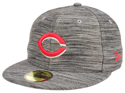 Cincinnati Reds New Era MLB Blurred Trick 59FIFTY Cap