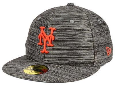 New York Mets New Era MLB Blurred Trick 59FIFTY Cap