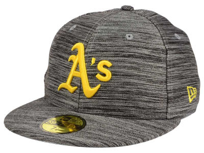 Oakland Athletics New Era MLB Blurred Trick 59FIFTY Cap