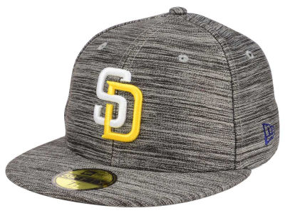 San Diego Padres New Era MLB Blurred Trick 59FIFTY Cap
