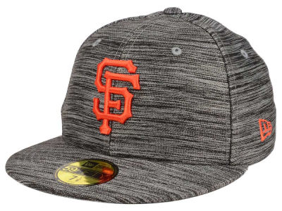 San Francisco Giants New Era MLB Blurred Trick 59FIFTY Cap