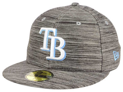 Tampa Bay Rays New Era MLB Blurred Trick 59FIFTY Cap