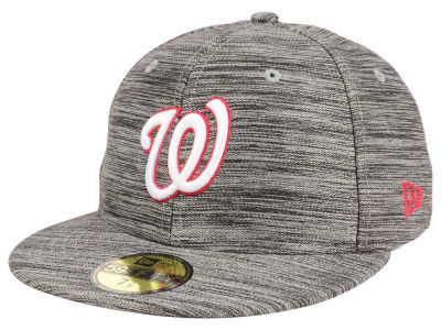 Washington Nationals New Era MLB Blurred Trick 59FIFTY Cap