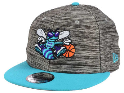Charlotte Hornets New Era NBA HWC Blurred Trick 9FIFTY Snapback Cap