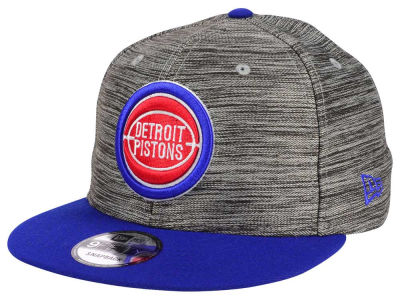 Detroit Pistons New Era NBA HWC Blurred Trick 9FIFTY Snapback Cap
