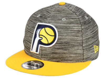 Indiana Pacers New Era NBA HWC Blurred Trick 9FIFTY Snapback Cap