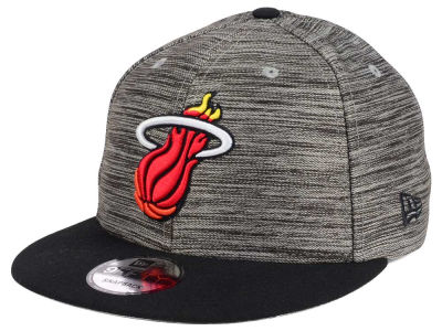 Miami Heat New Era NBA HWC Blurred Trick 9FIFTY Snapback Cap