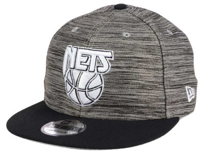 New Jersey Nets New Era NBA HWC Blurred Trick 9FIFTY Snapback Cap