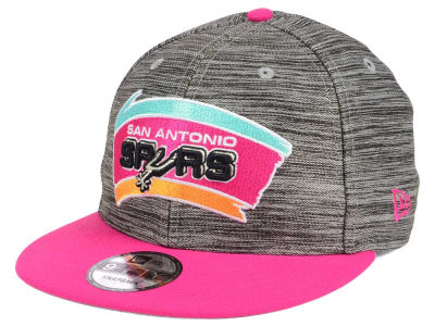 San Antonio Spurs New Era NBA HWC Blurred Trick 9FIFTY Snapback Cap