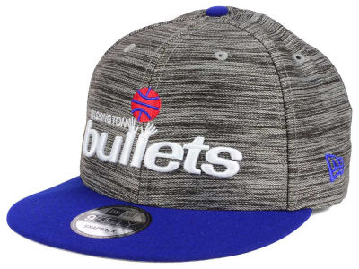 Washington Bullets New Era NBA HWC Blurred Trick 9FIFTY Snapback Cap