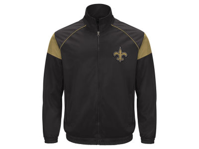 New Orleans Saints GIII NFL Men's Track Jacket