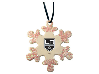 Los Angeles Kings Glitter Snowflake Ornament