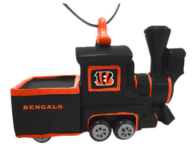Cincinnati Bengals Team Train Ornament