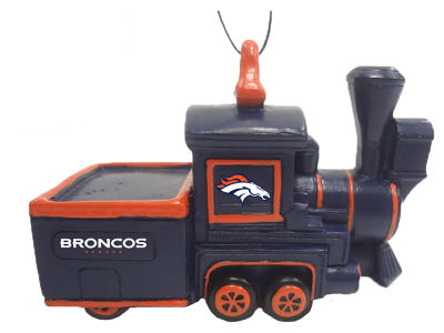 Denver Broncos Team Train Ornament