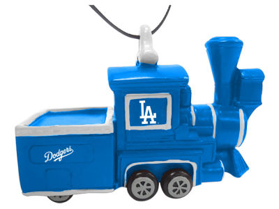 Los Angeles Dodgers Team Train Ornament
