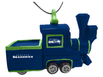 Seattle Seahawks Team Train Ornament