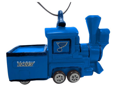 St. Louis Blues Team Train Ornament