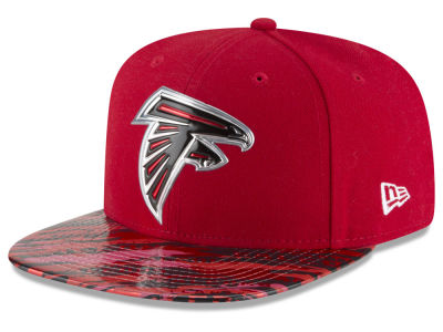 Atlanta Falcons New Era 2016 NFL On Field Color Rush 9FIFTY Snapback Cap