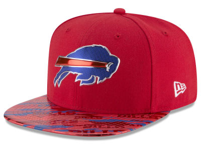 Buffalo Bills New Era 2016 NFL On Field Color Rush 9FIFTY Snapback Cap