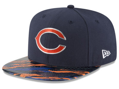 Chicago Bears New Era 2016 NFL On Field Color Rush 9FIFTY Snapback Cap