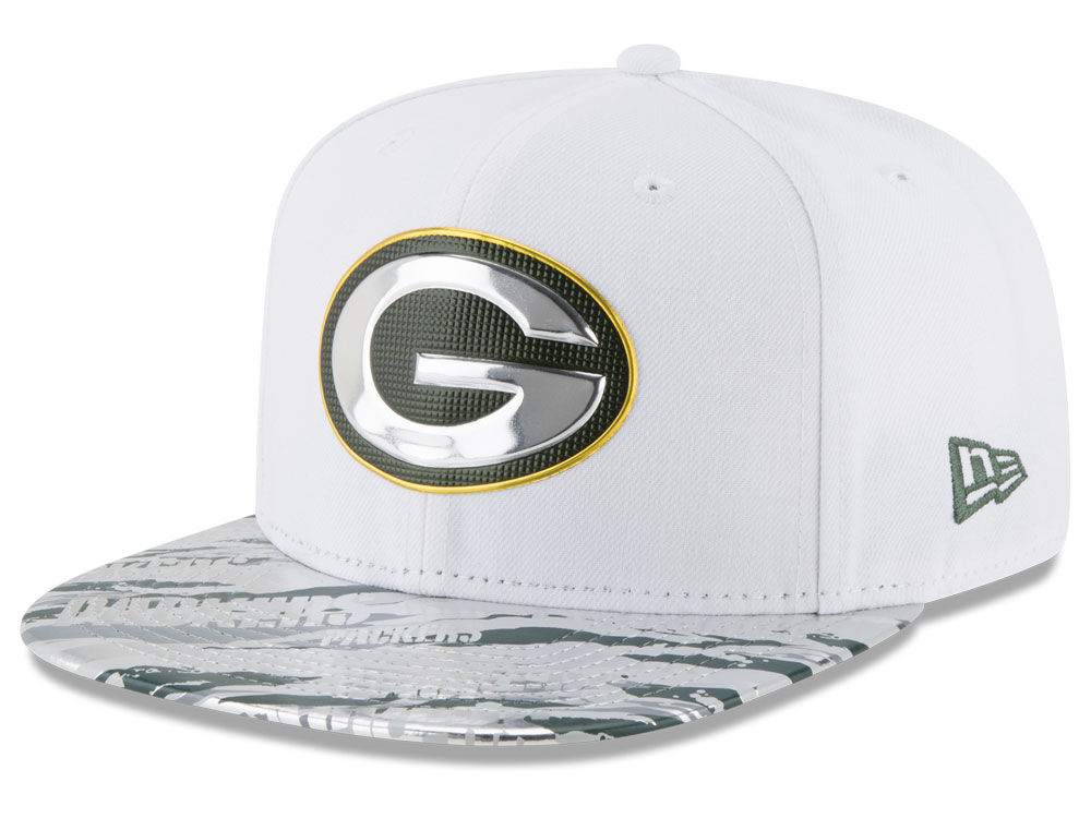 Green Bay Packers New Era 2016 NFL On Field Color Rush 9FIFTY Snapback Cap   446e26ce2