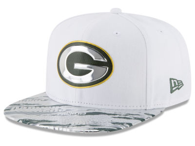 Green Bay Packers New Era 2016 NFL On Field Color Rush 9FIFTY Snapback Cap