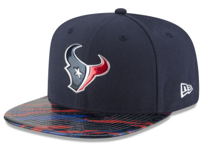Houston Texans New Era 2016 NFL On Field Color Rush 9FIFTY Snapback Cap
