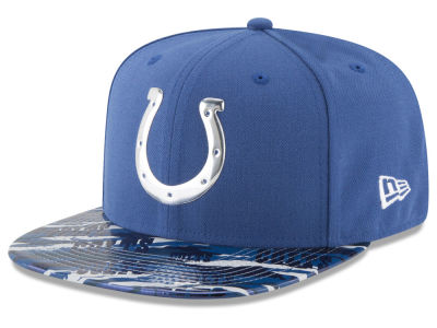 Indianapolis Colts New Era 2016 NFL On Field Color Rush 9FIFTY Snapback Cap