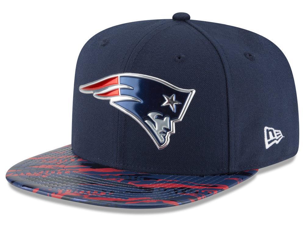 New England Patriots New Era 2016 NFL On Field Color Rush 9FIFTY Snapback  Cap  7a82650c1