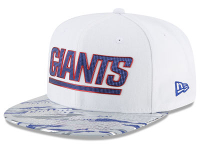 New York Giants New Era 2016 NFL On Field Color Rush 9FIFTY Snapback Cap