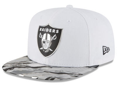 Oakland Raiders New Era 2016 NFL On Field Color Rush 9FIFTY Snapback Cap