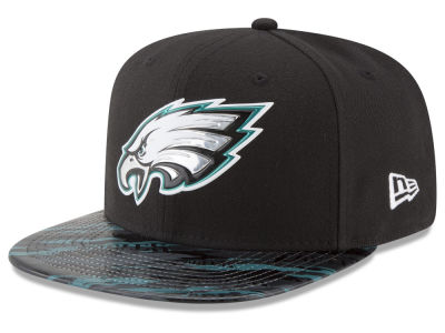 Philadelphia Eagles New Era 2016 NFL On Field Color Rush 9FIFTY Snapback Cap