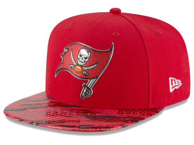 Tampa Bay Buccaneers New Era 2016 NFL On Field Color Rush 9FIFTY Snapback Cap