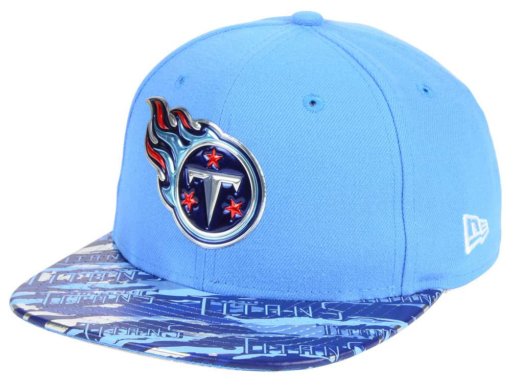 Tennessee Titans New Era 2016 NFL On Field Color Rush 9FIFTY Snapback Cap  4215dfe1b