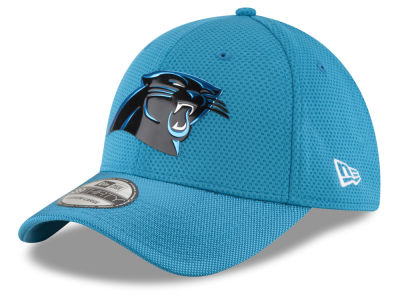 Carolina Panthers New Era 2016 NFL On Field Color Rush 39THIRTY Cap