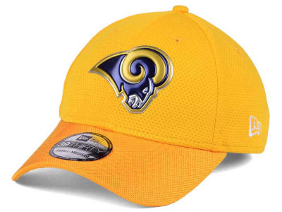 Los Angeles Rams New Era 2016 NFL On Field Color Rush 39THIRTY Cap