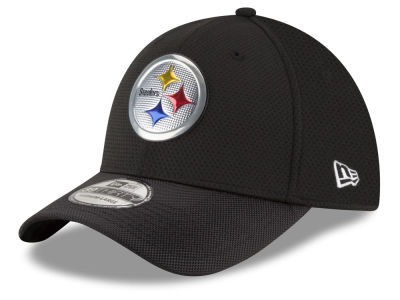 Pittsburgh Steelers New Era 2016 NFL On Field Color Rush 39THIRTY Cap
