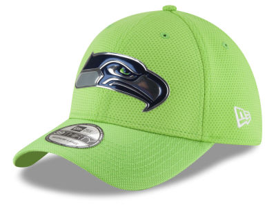 Seattle Seahawks New Era 2016 NFL On Field Color Rush 39THIRTY Cap