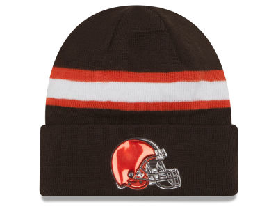 Cleveland Browns New Era 2016 NFL On Field Color Rush Knit