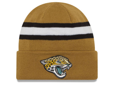 Jacksonville Jaguars New Era 2016 NFL On Field Color Rush Knit