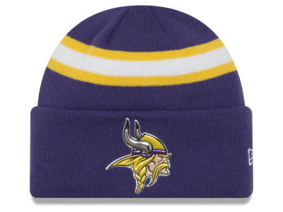 Minnesota Vikings New Era 2016 NFL On Field Color Rush Knit