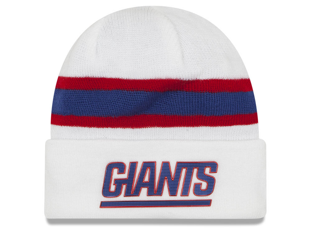 New York Giants New Era 2016 NFL On Field Color Rush Knit  48a80682473