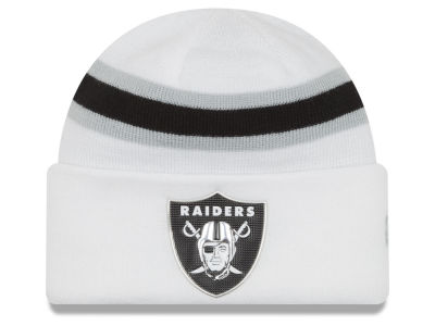 Oakland Raiders New Era 2016 NFL On Field Color Rush Knit
